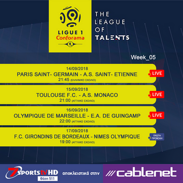 Week 05 - French Ligue1