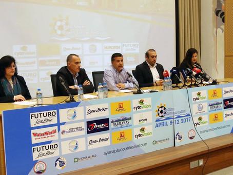 Ayia Napa Soccer Festival 2017 (video)
