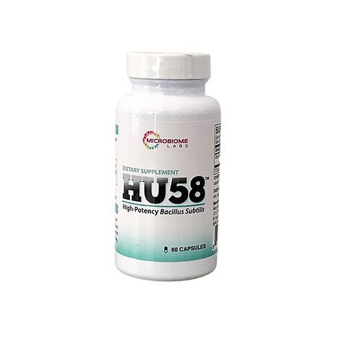 HU58 (High Potency Bacillus Subtillis) by Microbiome Labs