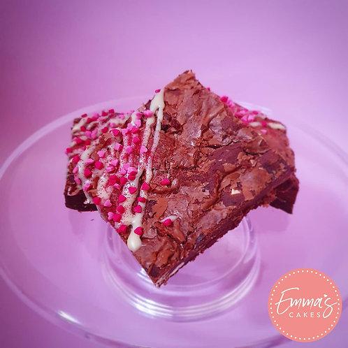 GF Valentines Triple Chocolate Brownies