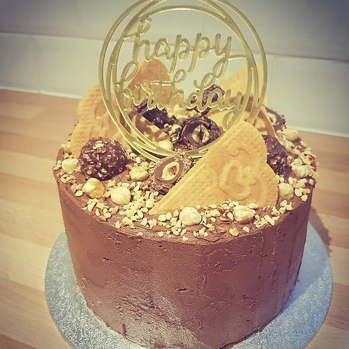 Chocolate & Hazelnut Cake