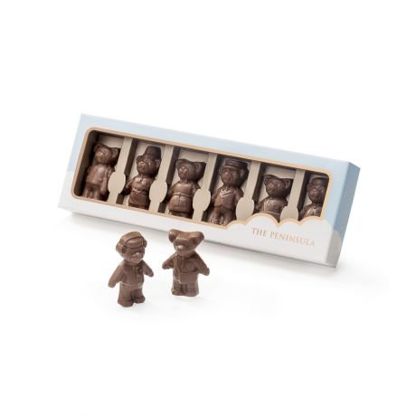 THE PENINSULA BOUTIQUE /  Blissful Bears Chocolates - 6 Pieces