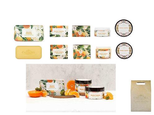 CASTELBEL / Verbena Orange Soap, Body Butter & Body Scrub