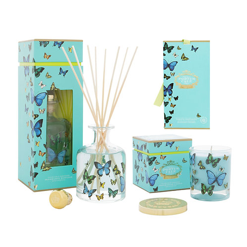 CASTELBEL / Butterfly Diffuser, Candle and Fragrant Sachet