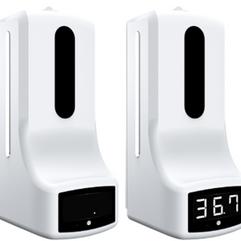 Hand Sanitizer and Temperature Dispenser