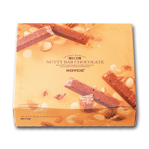 CITY'SUPER / ROYCE' Nutty Bar Chocolate (12pcs)