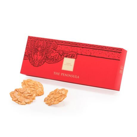THE PENINSULA BOUTIQUE / Almond Thins - 12 Pieces