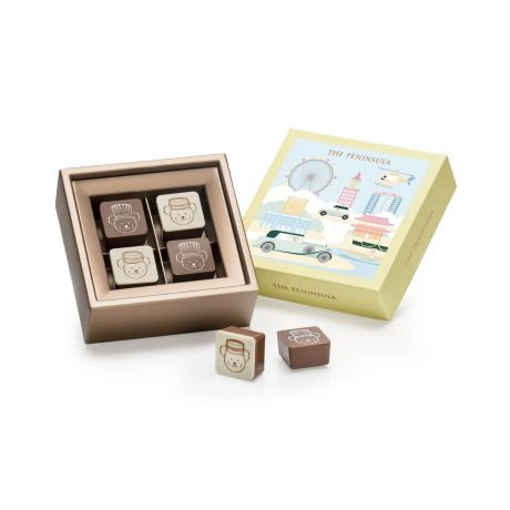 THE PENINSULA BOUTIQUE / Blissful Bears Pralines - 4 Pieces