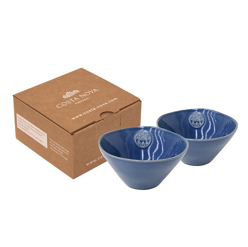 COSTA NOVA / Nova Soup - Cereal Bowls x 2 (15cm) (Blue)
