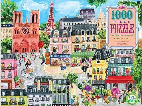 Rompecabezas de París Europa Mixta