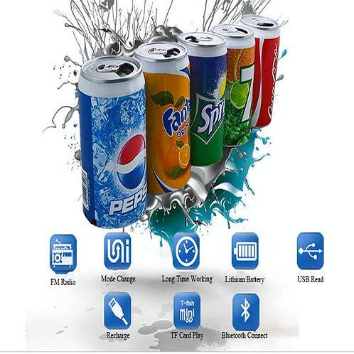 Bocina Subwoofer Pepsi y Coca Cola  Bluetooth con alta acústica Mp3 altavoz