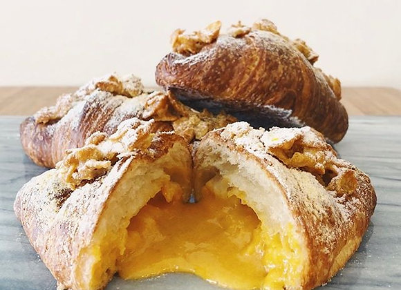 Salted Egg Yolk Croissant