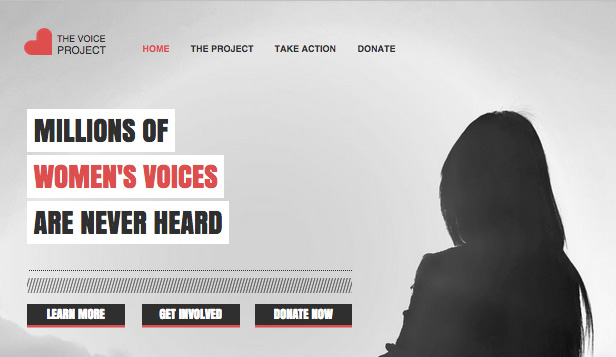 Community website templates – Community Action Group