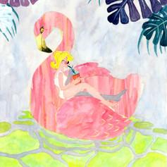 flamingo vacation