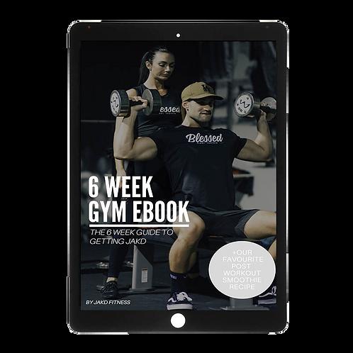 6 Week Gym workout ebook