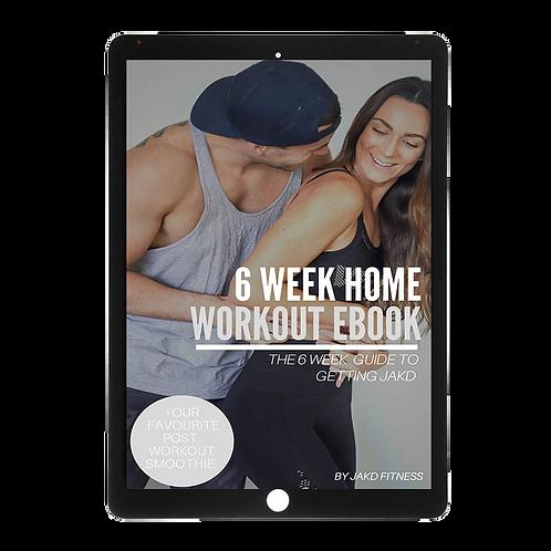 6 week home workout ebook