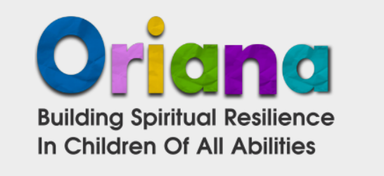 "Oriana logo, with the strap line ""Building spiritual resilience in children of all abilities""."