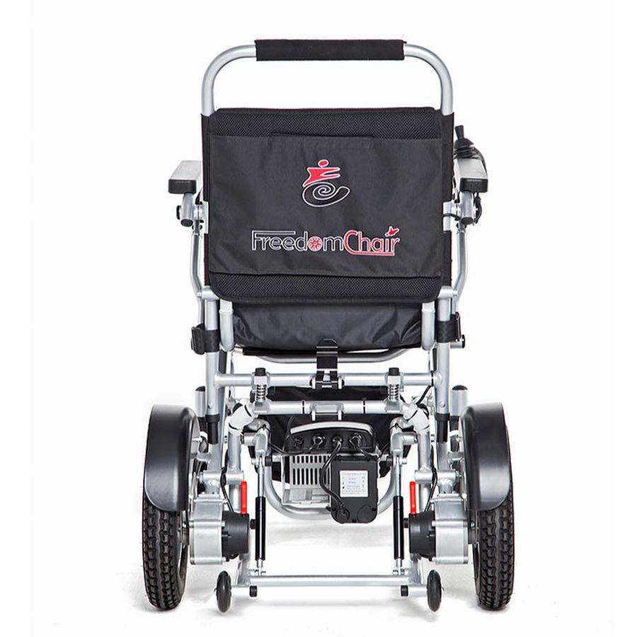 My wheelchair. A foldable lightweight power chair called a freedom chair