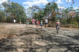 Aboroginal rock art site - Yengo NP