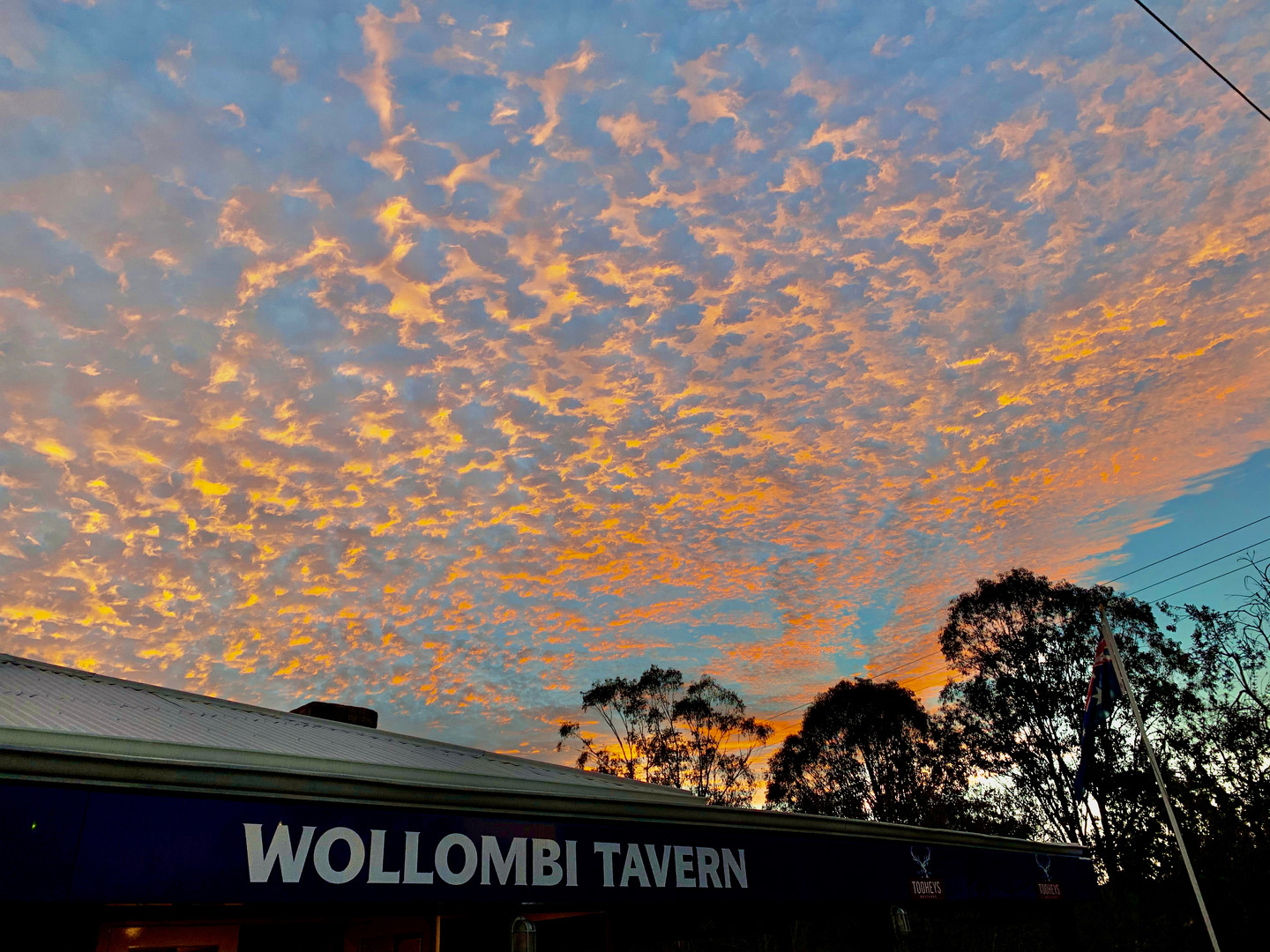 The Wollombi Tavern - home to Dr Jurd's Jungle Juice and only a short drive from Wollombi Farm