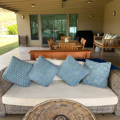 Outdoor lounge and dining