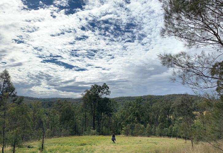 Expansive views on Wollombi Farm