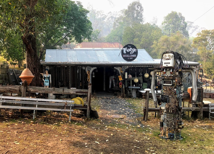 The Forge in Wollombi Village - Tim Ainsworth Photography