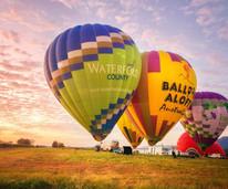 Hot air ballooning in the Hunter Valley