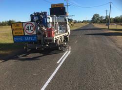 Longline paint truck mount (800 litre capacity)