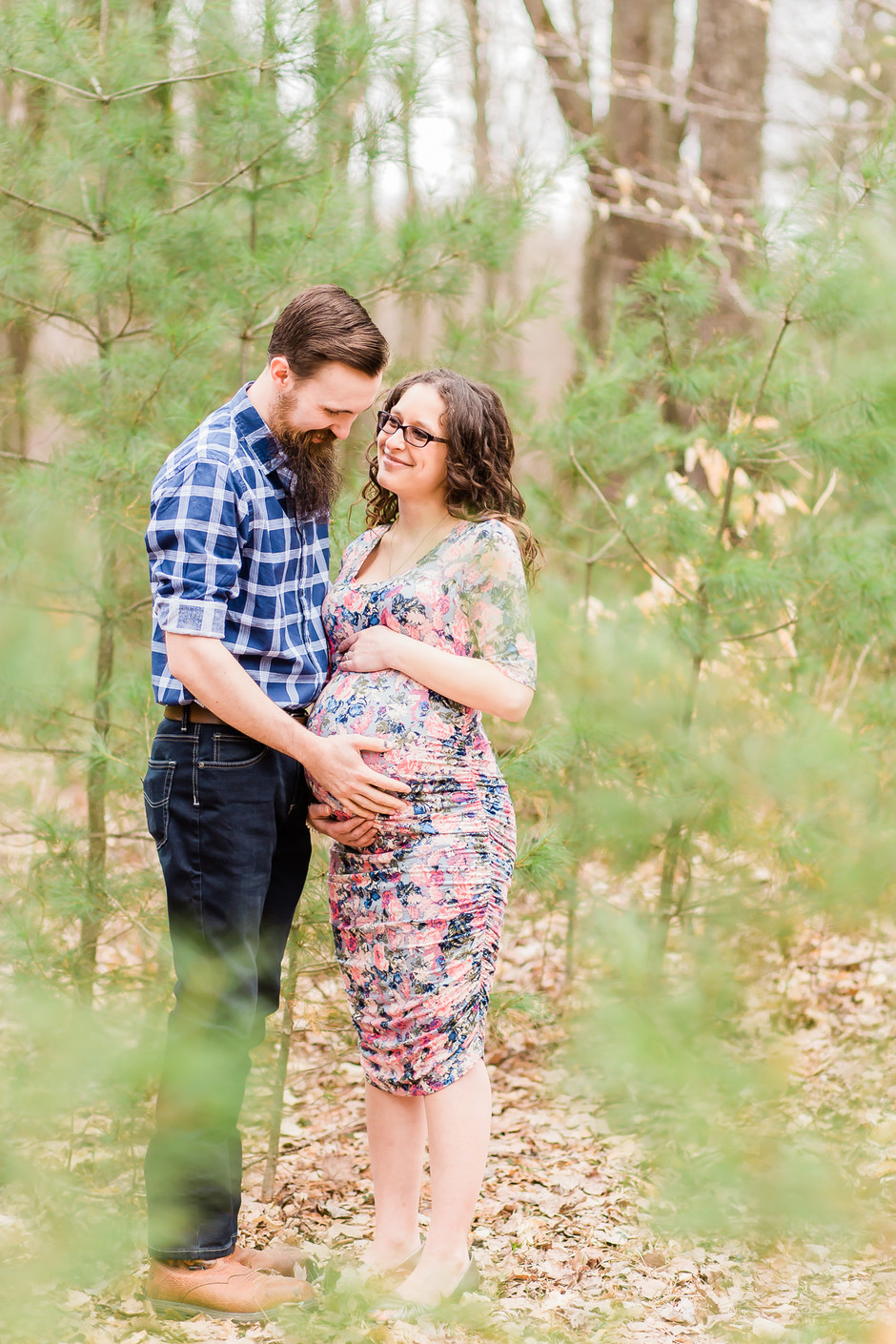 A Creek Side Maternity Session