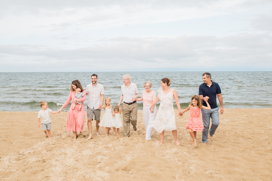 Grand Haven Extended Family Session