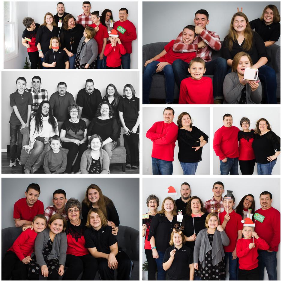 A Fun Family Christmas Photo Shoot!