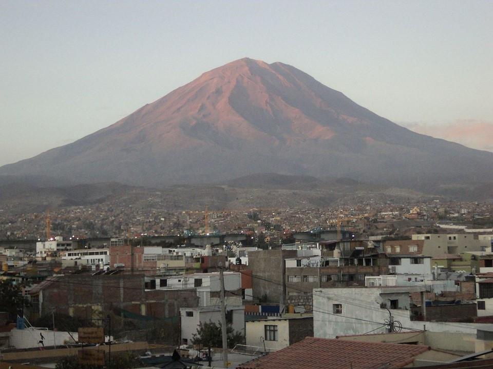 sopka El Misti
