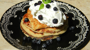 Recipe: Delicious unsweetened banana pancakes