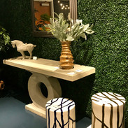 GRIER console & WILLOW stool