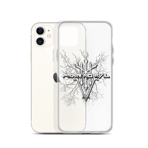 iPhone Case Fear No Evil Clear