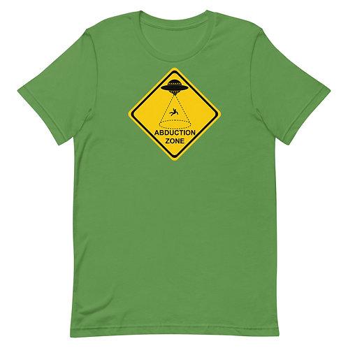 Warning: Abduction Zone shirt