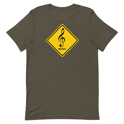 Warning: Music shirt