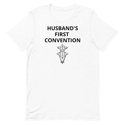 HUSBAND'S first Con Unisex T-Shirt