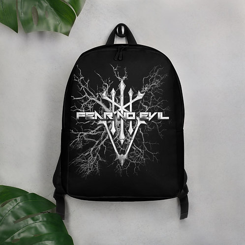 Minimalist Backpack Fear No Evil