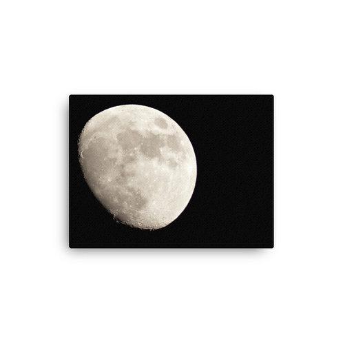 Moon Print on Canvas