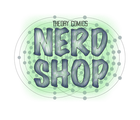 Theory Comics Nerd Shop Logo