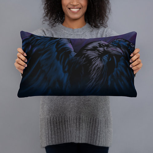 Nevermore Pillow