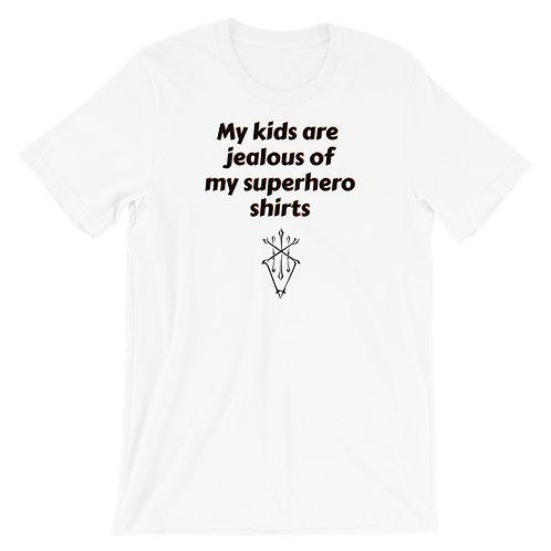 Superhero shirts with Symbol Short-Sleeve Unisex T-Shirt