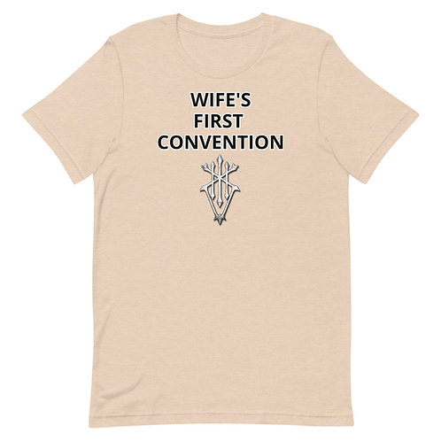 WIFE'S first Con Unisex T-Shirt