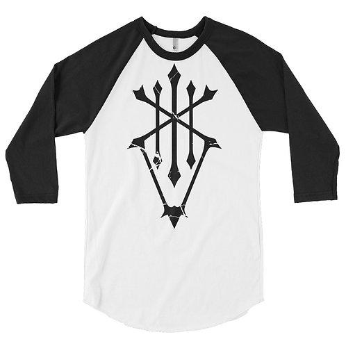 Ferrokin 3/4 sleeve raglan shirt