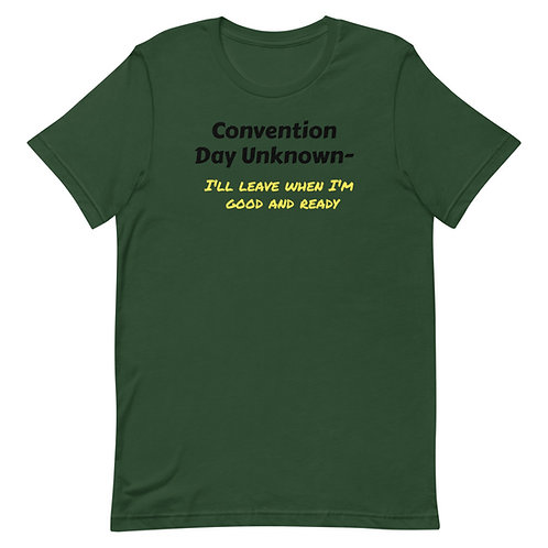 Con Day Unknown Short-Sleeve Unisex T-Shirt