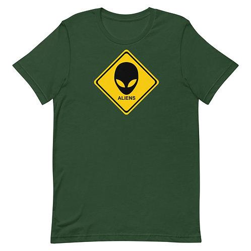 Warning: Aliens shirt