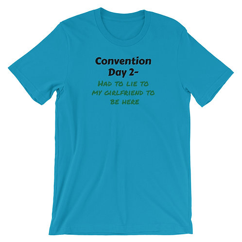 Con Day 2 Girlfriend Short-Sleeve Unisex T-Shirt