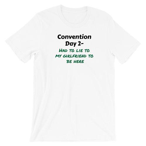 Con Day 2 Girlfriend Short-Sleeve Unisex T-Shirt
